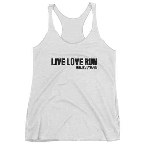 Live Love Run tank top