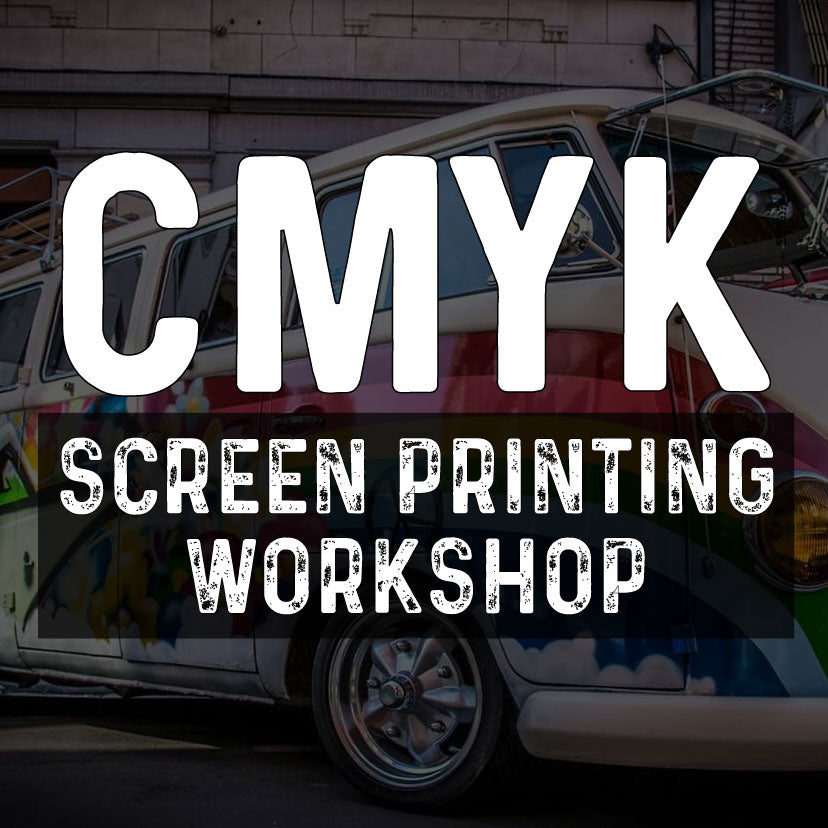Screen Print Academy - CMYK Screen Printing Class