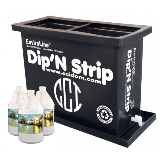 EnviroLine® DST-1 Dip'N Strip® Tank - KIT (Includes Chemicals)