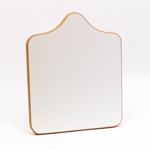 "Infant Universal Wood Platen with Neck 10""X10"""