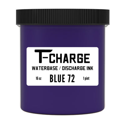 T-CHARGE DISCHARGE & WATERBASE INK - Blue 072
