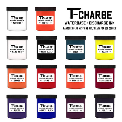 T-CHARGE DISCHARGE & WATERBASE INK - PINT - Orange