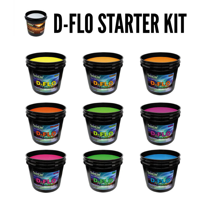 D-FLO Starter Kit Waterbase Discharge Inks