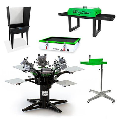 ENTREPRENEUR PLUS COMPLETE SCREEN PRINTING SHOP PACKAGE