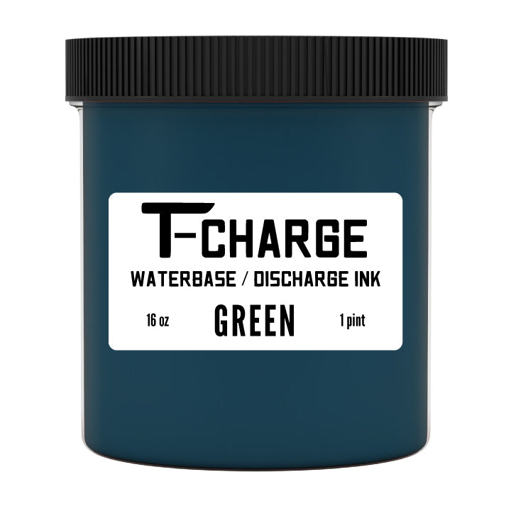 T-CHARGE DISCHARGE & WATERBASE INK - Green - Pint