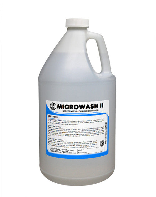 MICROWASH II - SCREEN WASH / EMULSION REMOVER