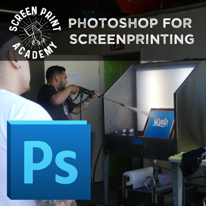 Screen Printing Class - PhotoShop for Screen Printing
