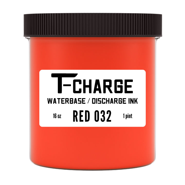 T-CHARGE DISCHARGE & WATERBASE INK - Red 032