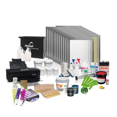 RILEY PRO PLUS COMPLETE SCREEN PRINTING SHOP PACKAGE