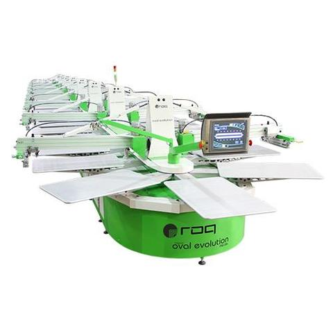 ROQ OVAL EVOLUTION Automatic Screen Printing Press