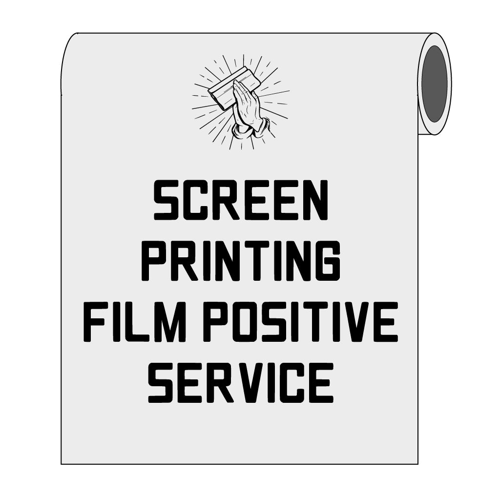 Film Output Service for Screen Printing - Waterproof Films
