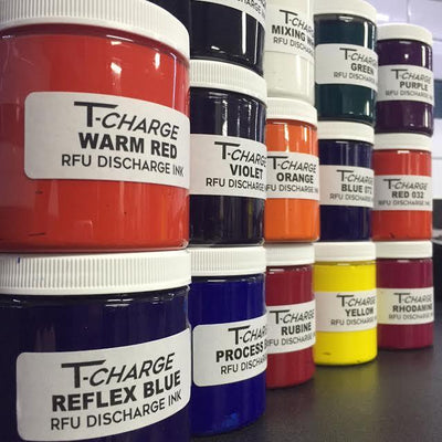 T-CHARGE DISCHARGE & WATERBASE INK - Mixing White