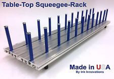 Table-Top Squeegee Rack