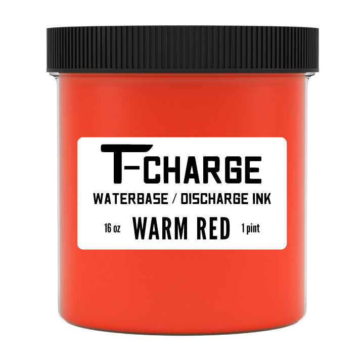 T-CHARGE DISCHARGE & WATERBASE INK - Warm Red