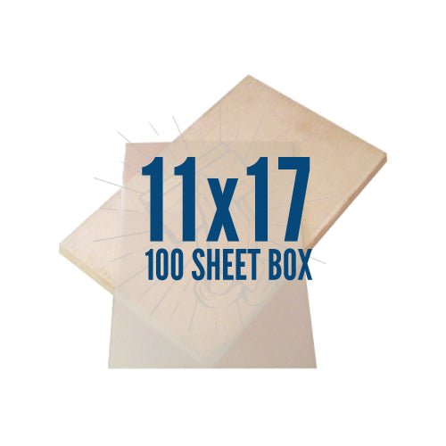 "Waterproof Inkjet Film 100 Pack 11""x17"""