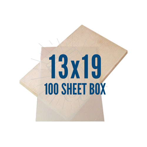 "Waterproof Inkjet Film 100 Pack 13""x19"""