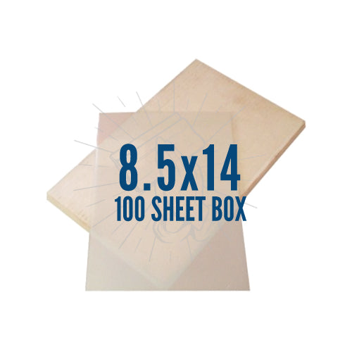 "Waterproof Inkjet Film 100 Pack 8.5""x14"""