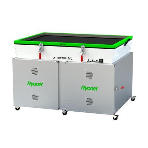 X-VACTOR XL UV VACUUM EXPOSURE UNIT WITH DIGITAL TIMER AND 20 SCREEN CABINET