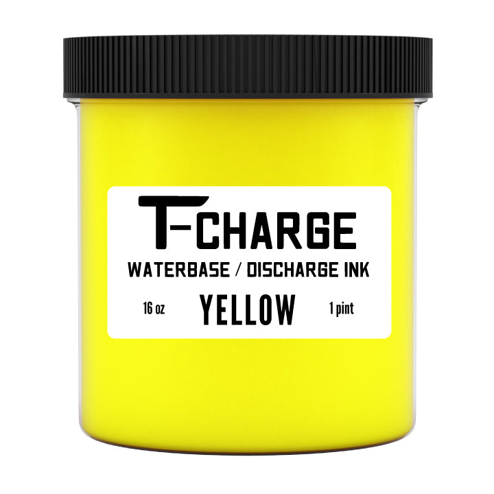 T-CHARGE DISCHARGE & WATERBASE INK - PINT - Yellow