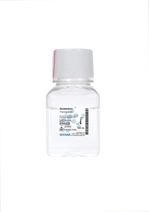 Gentamicin Solution (10mg/ml), 100 ml