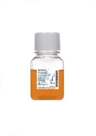 Rat Serum - 0.2 µm Sterile Filtered, 100 ml, EU Eligible Origin