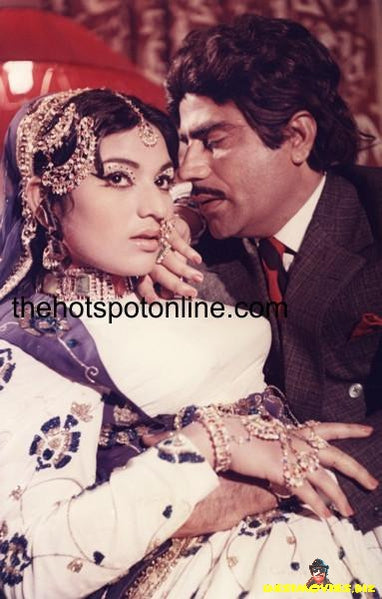 Lollywood Lobby Card - Ishrat Chaudhary - 70's