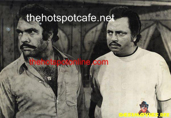 Lollywood Lobby Card - Sultan Rahi & Aslam Parvez - 70's