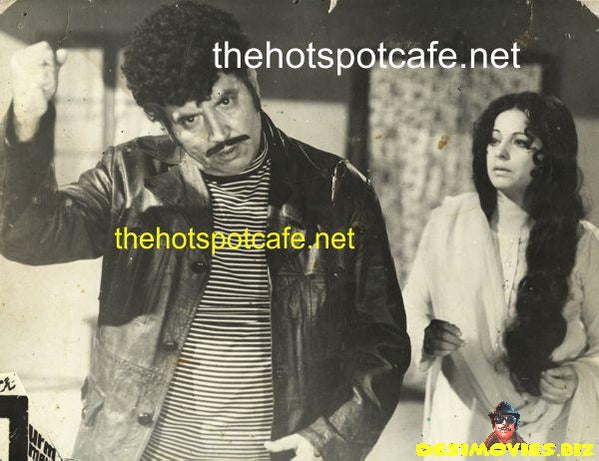 Lollywood Lobby Card - Sudhir and Sabiha Khanum - 70's