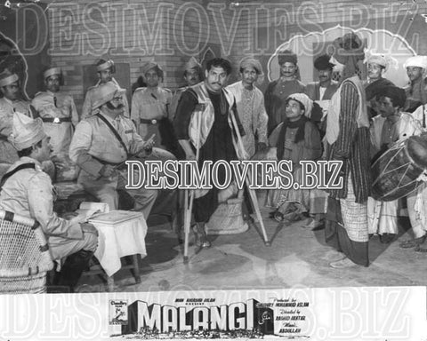 Malangi (1965) Lollywood Lobby Card Still 18
