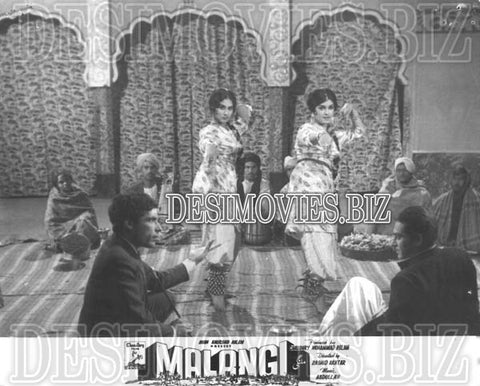 Malangi (1965) Lollywood Lobby Card Still 10