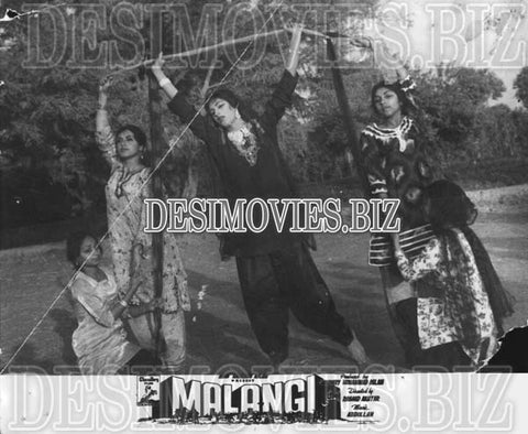 Malangi (1965) Lollywood Lobby Card Still 11