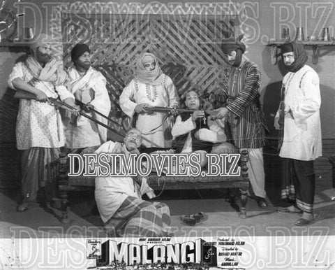 Malangi (1965) Lollywood Lobby Card Still 12