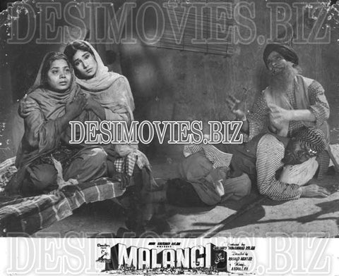 Malangi (1965) Lollywood Lobby Card Still 14