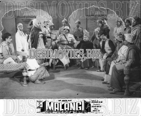 Malangi (1965) Lollywood Lobby Card Still 15