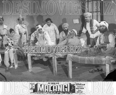 Malangi (1965) Lollywood Lobby Card Still 16
