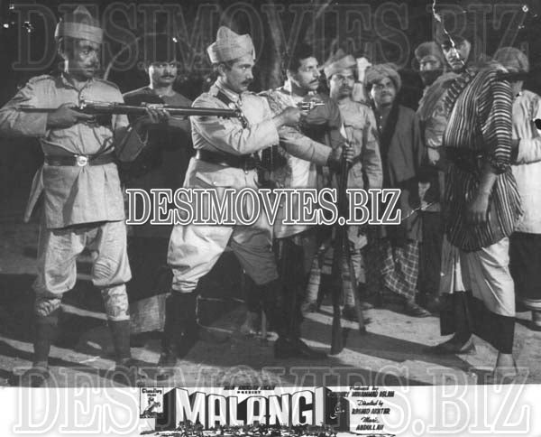 Malangi (1965) Lollywood Lobby Card Still 17
