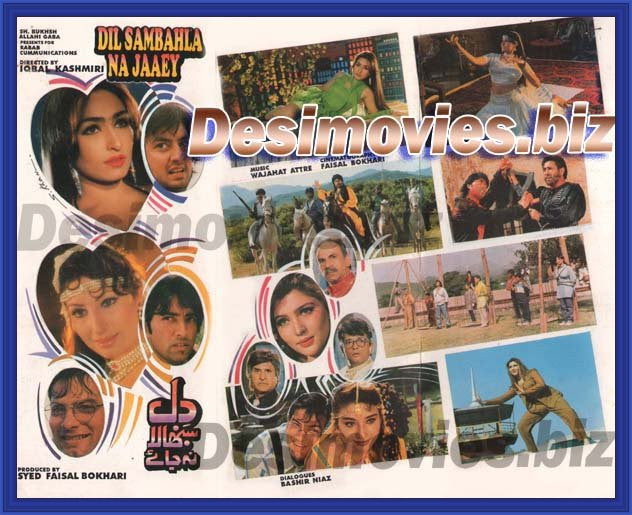 Dil Sanbhala na jaay (1998) Lollywood Original Booklet
