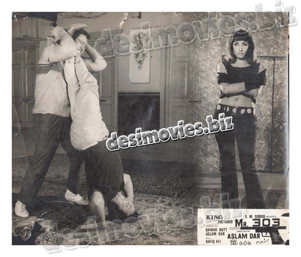 Mr.303 (1971) Lollywood Lobby Card Still 1