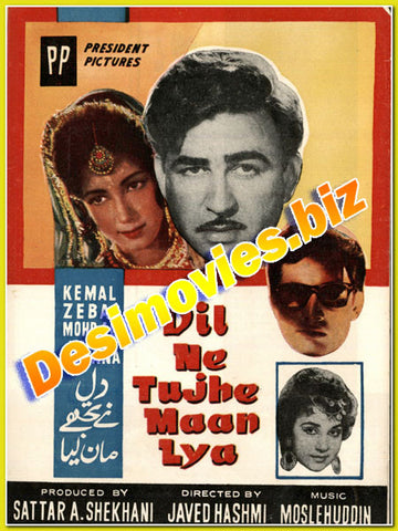 Dil ne Tujhe Maan Liya (1963) Lollywood Original Booklet