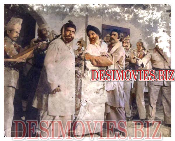 Chann Varyam (1981) Lollywood Lobby Card Still 2