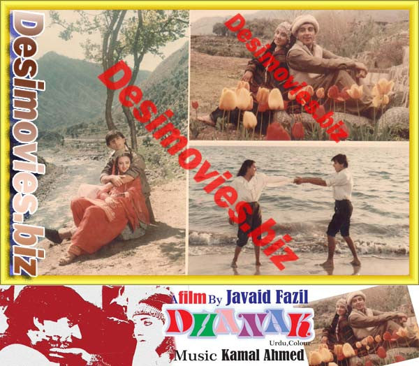 Dhanak (1986) Lollywood Lobby Card Still 1