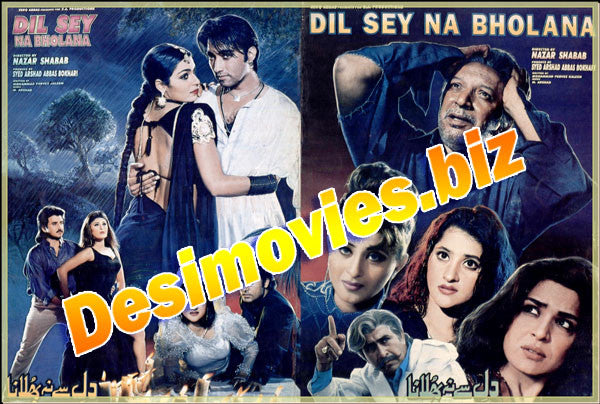 Dil Sey Na Bholana  (2000) Lollywood Original Booklet