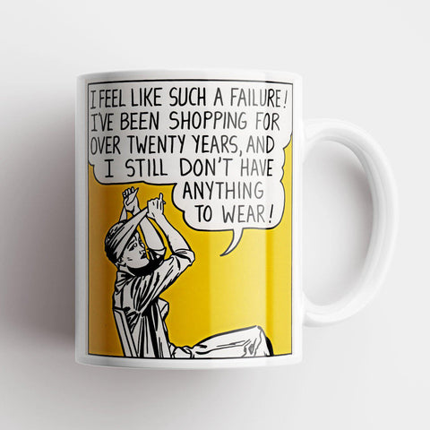 Such A Failure - Original Poster Mug