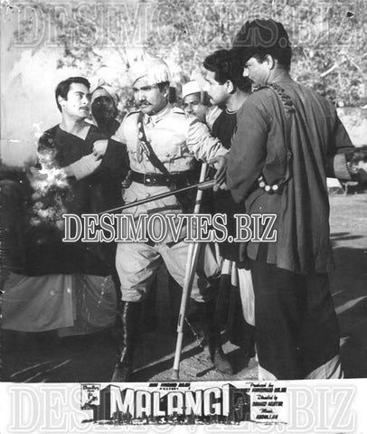 Malangi (1965) Lollywood Lobby Card Still 6