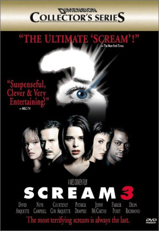 Scream 3 (Dimension Collector's Series) DVD Region 1