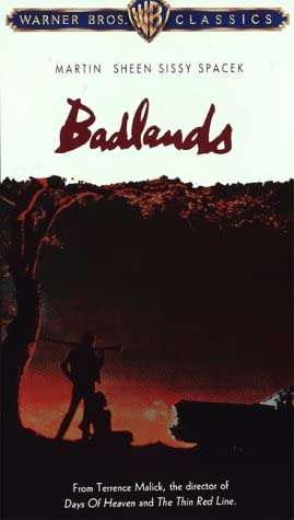 Badlands DVD Region 1