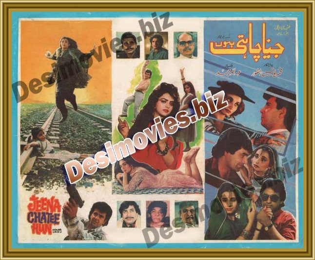 Jeena Chahtee Hun (1992) Lollywood Original Booklet