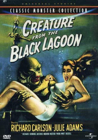 Creature From the Black Lagoon DVD Region 1