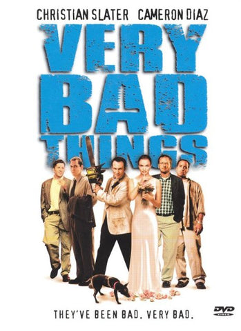Very Bad Things DVD Region 1