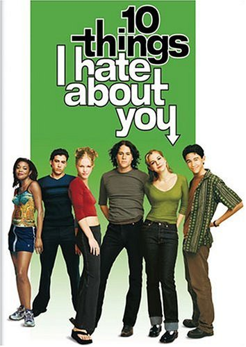 10 Things I Hate About You DVD Region 1